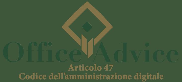 Art. 47 - Codice dell'amministrazione digitale
