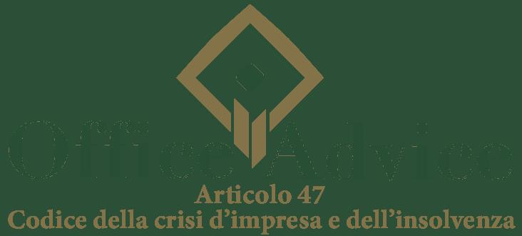 Art. 47 - Codice della crisi d'impresa e dell'insolvenza