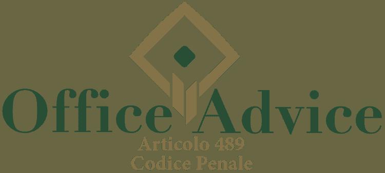 Articolo 489 - Codice Penale