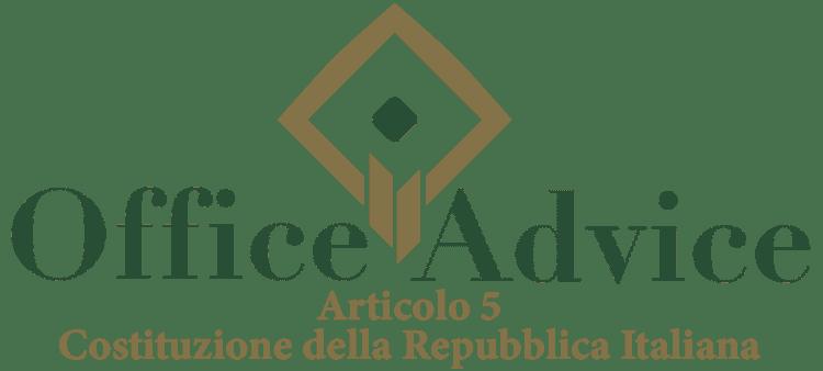 Articolo 5 - Costituzione della Repubblica Italiana