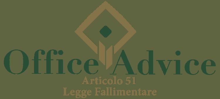 Articolo 51 - Legge fallimentare