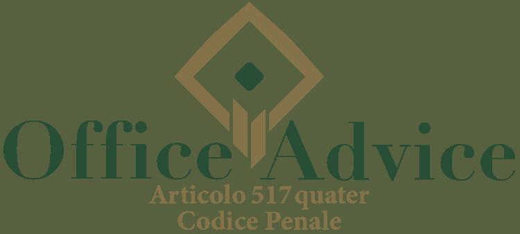 Articolo 517 quater - Codice Penale