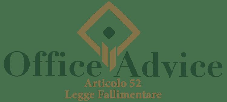 Articolo 52 - Legge fallimentare