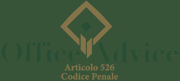 Articolo 526 - Codice Penale
