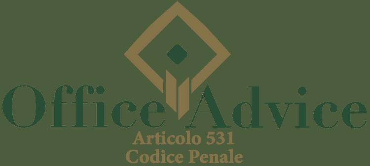 Articolo 531 - Codice Penale
