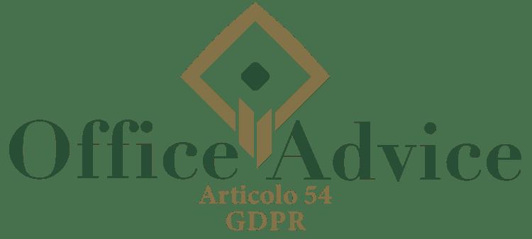 Articolo 54 - GDPR