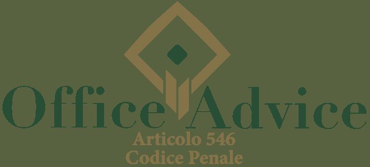 Articolo 546 - Codice Penale
