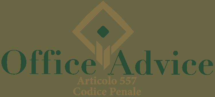 Articolo 557 - Codice Penale