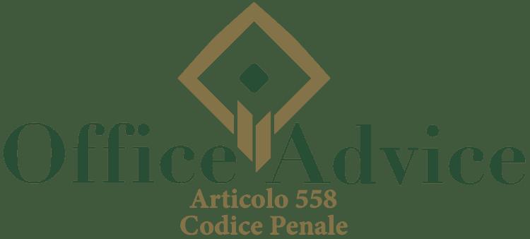 Articolo 558 - Codice Penale