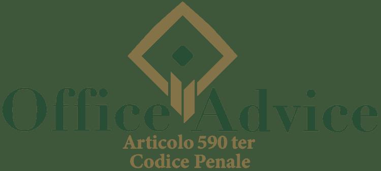 Articolo 590 ter - Codice Penale