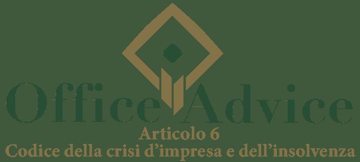 Art. 6 - Codice della crisi d'impresa e dell'insolvenza