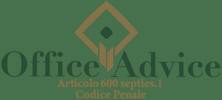 Articolo 600 septies 1 - Codice Penale