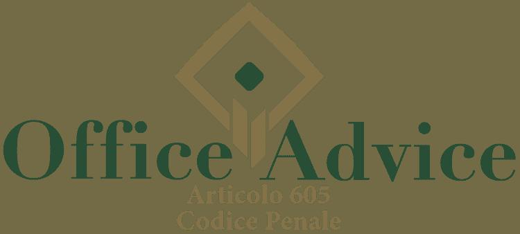 Articolo 605 - Codice Penale
