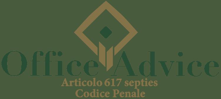 Articolo 617 septies - Codice Penale