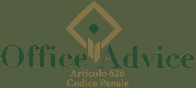Articolo 626 - Codice Penale