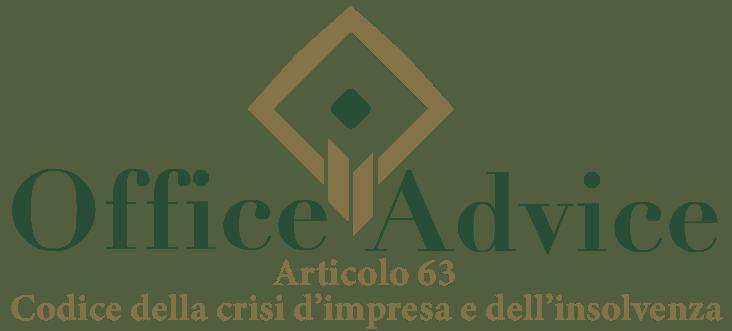 Art. 63 - Codice della crisi d'impresa e dell'insolvenza