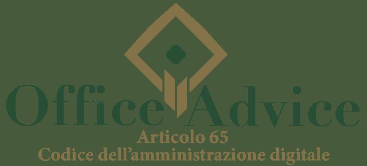 Art. 65 - Codice dell'amministrazione digitale