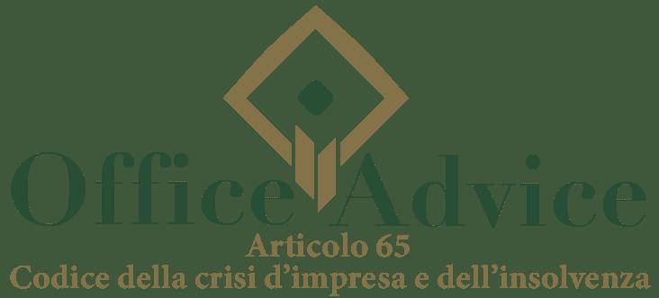 Art. 65 - Codice della crisi d'impresa e dell'insolvenza