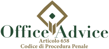 Articolo 658 - Codice di Procedura Penale