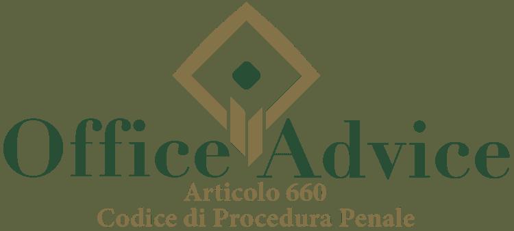 Articolo 660 - Codice di Procedura Penale