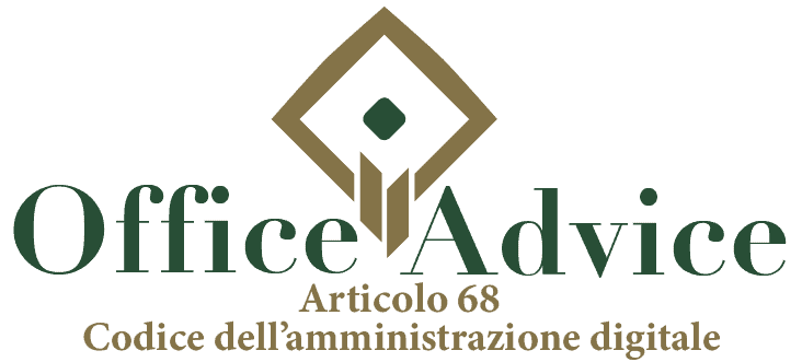 Art. 68 - Codice dell'amministrazione digitale