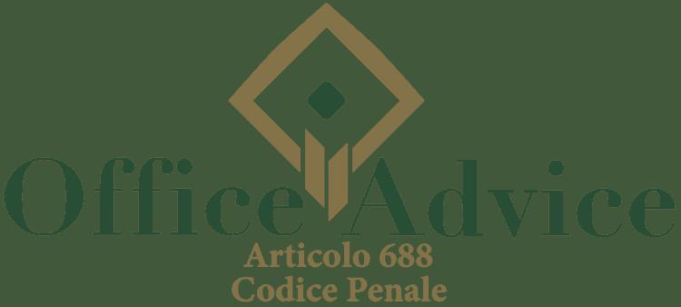 Articolo 688 - Codice Penale