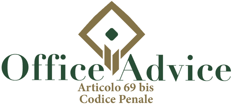Articolo 69 bis - Codice Penale