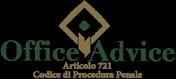 Articolo 721 - Codice di Procedura Penale