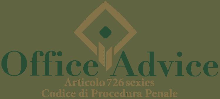Articolo 726 sexies - Codice di Procedura Penale