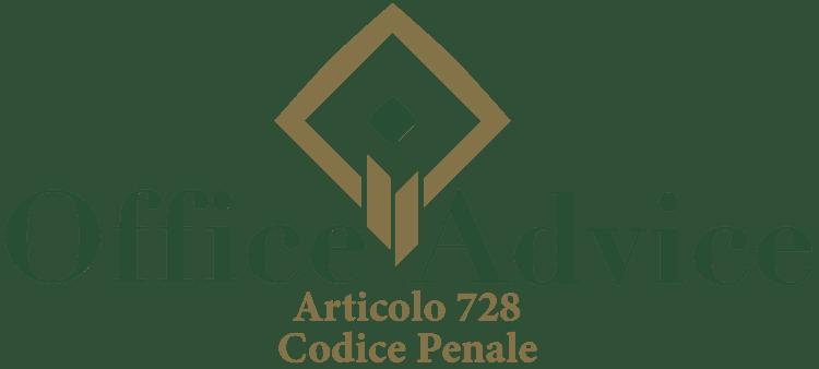 Articolo 728 - Codice Penale