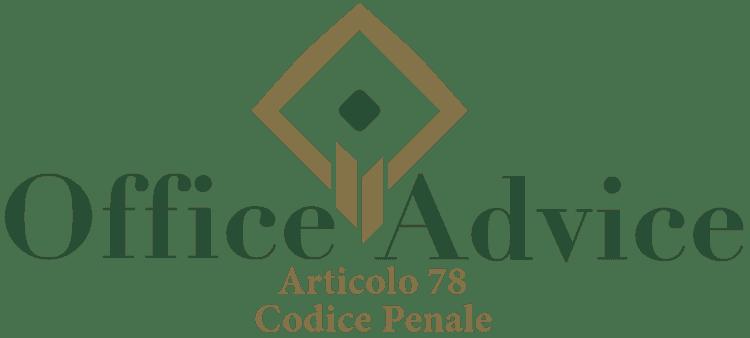 Articolo 78 - Codice Penale