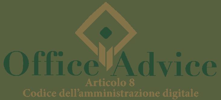 Art. 8 - Codice dell'amministrazione digitale