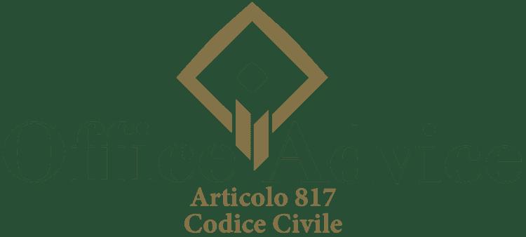 Articolo 817 - Codice Civile