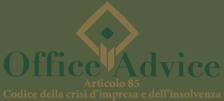 Art. 85 - Codice della crisi d'impresa e dell'insolvenza