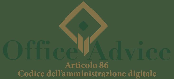 Art. 86 - Codice dell'amministrazione digitale