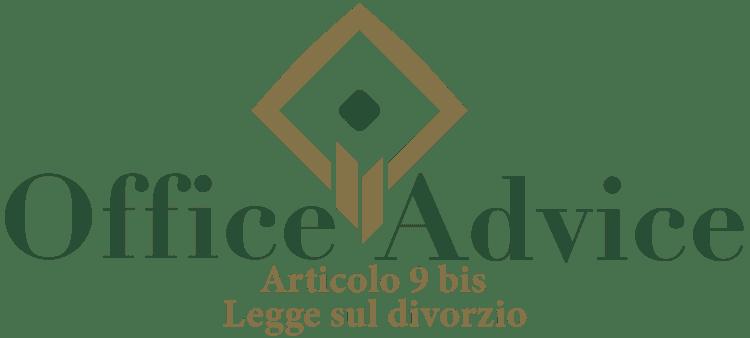 Articolo 9 bis - Legge sul divorzio