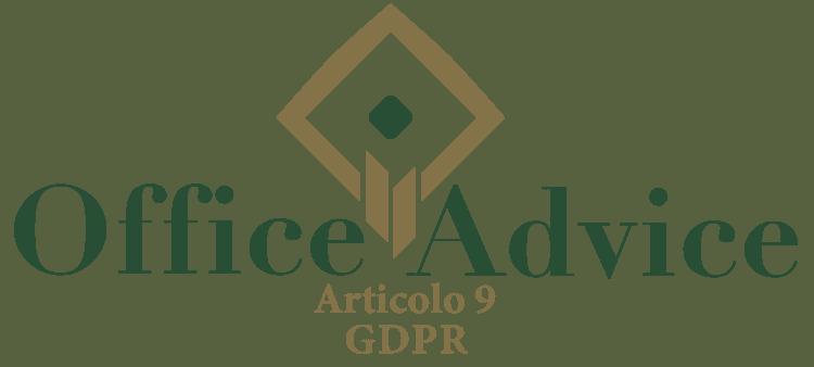 Articolo 9 - GDPR