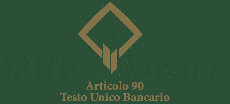 Art. 90 - Testo unico bancario