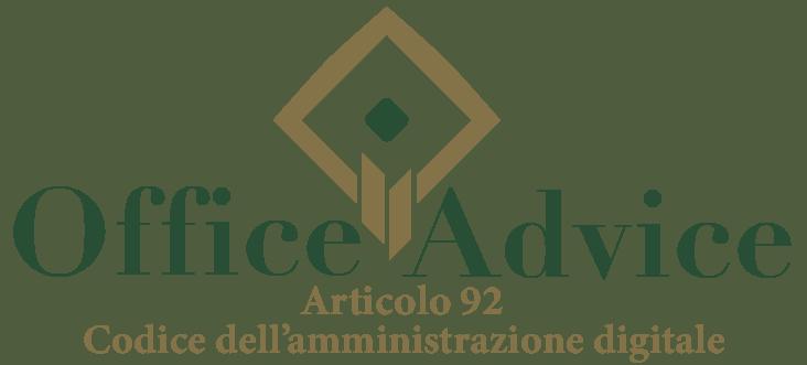 Art. 92 - Codice dell'amministrazione digitale