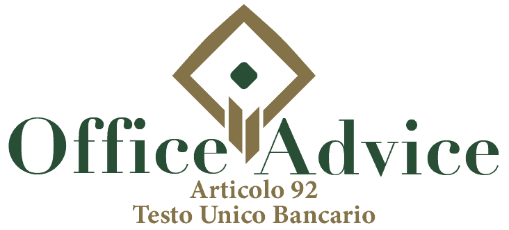 Art. 92 - Testo unico bancario