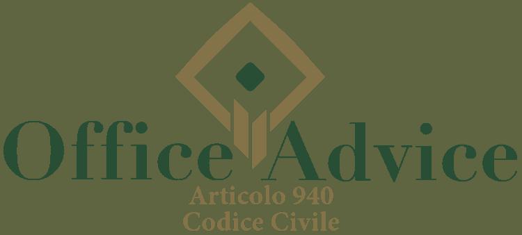 Articolo 940 - Codice Civile