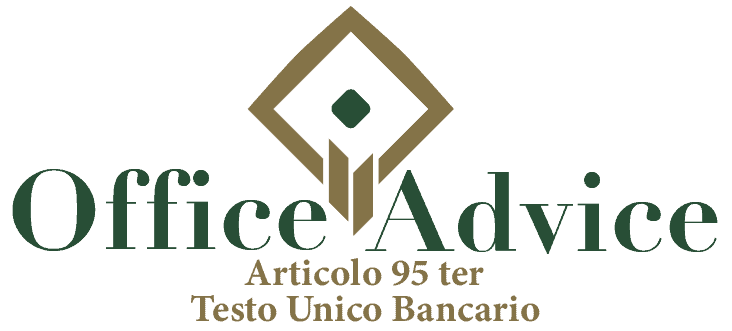 Art. 95 ter - Testo unico bancario