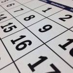 Le scadenze del mese: agosto 2020