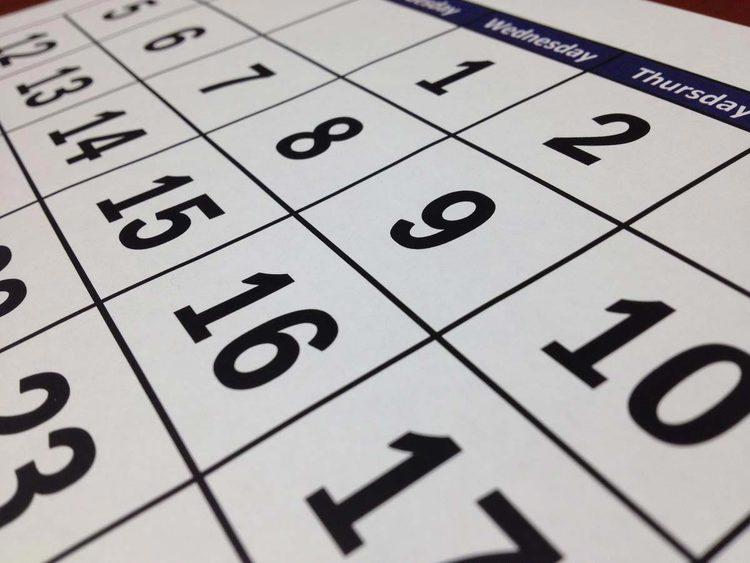 Le scadenze del mese: Maggio 2021