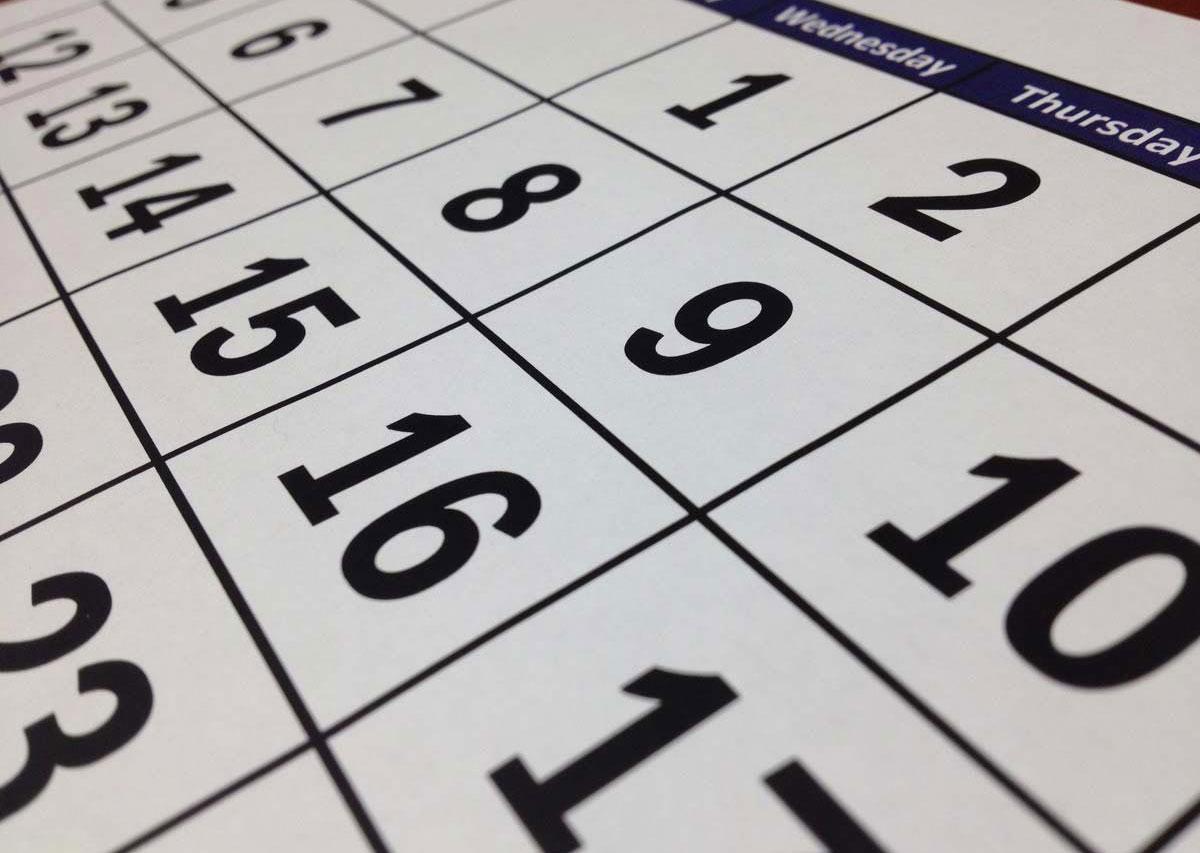 Le scadenze del mese: ottobre 2021